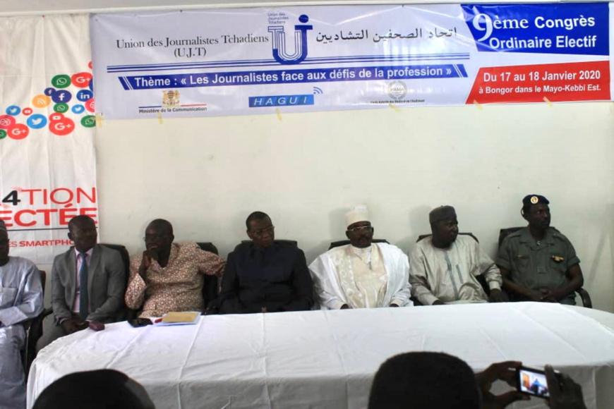 Le congrès de l'UJT à Bongor, au Tchad. Illustration © Alwihda Info