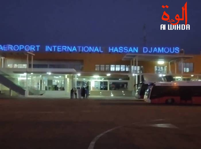 L'aéroport international de N'Djamena. Illustration © Malick Mahamat/Alwihda Info