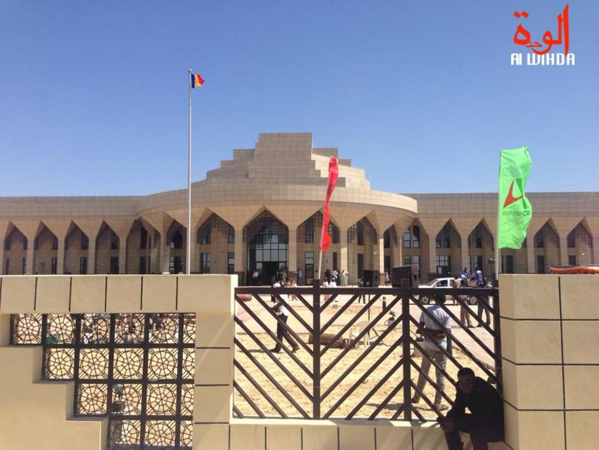 Le Palais de la démocratie de Bassi, siège de l'Assemblée nationale au Tchad. © Alwihda Info