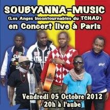 Le groupe Soubyana Music en concert live à Paris, le vendredi