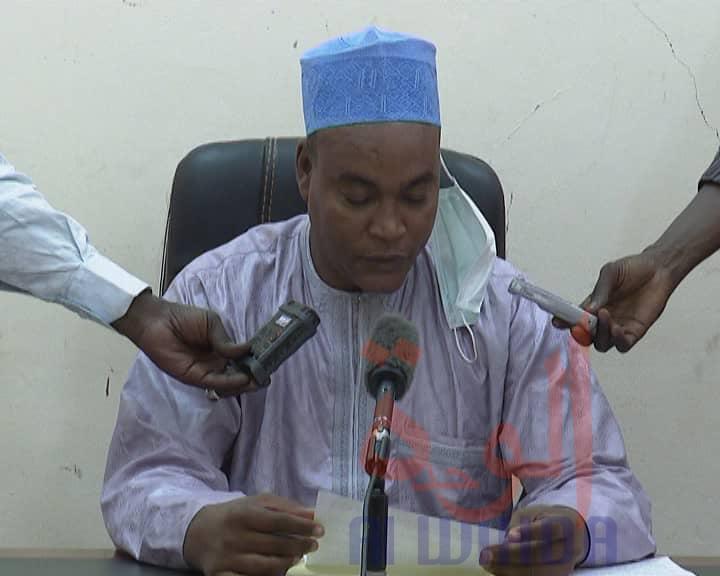 Tchad : un nouveau délégué provincial du commerce installé au Ouaddaï. © Abba Issa/Alwihda Info