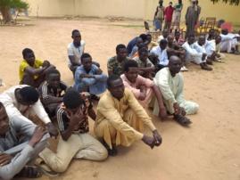 Tchad : 28 jeunes interceptés au Sila, ils tentaient de se rendre clandestinement au nord. © Mahamat Issa Gadaya/Alwihda Info