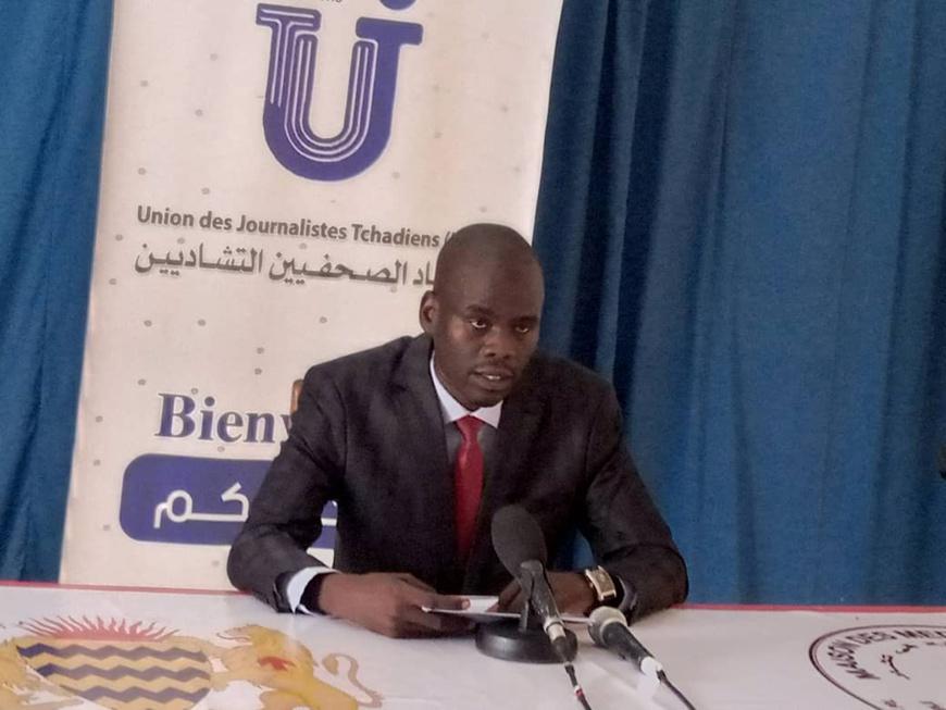 Le président de l'UJT, Abbas Mahmoud Tahir.