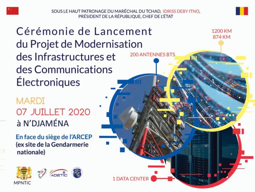 Tchad : un projet de modernisation des infrastructures et des communications électroniques