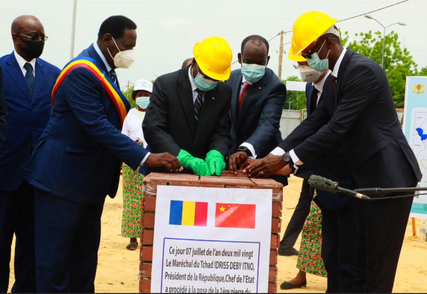 Tchad- Technologies : Pose de la première pierre pour la construction d'un centre national des données : ©️ Kelvin Mendig-lembaye Djetoyo/Alwihda Info