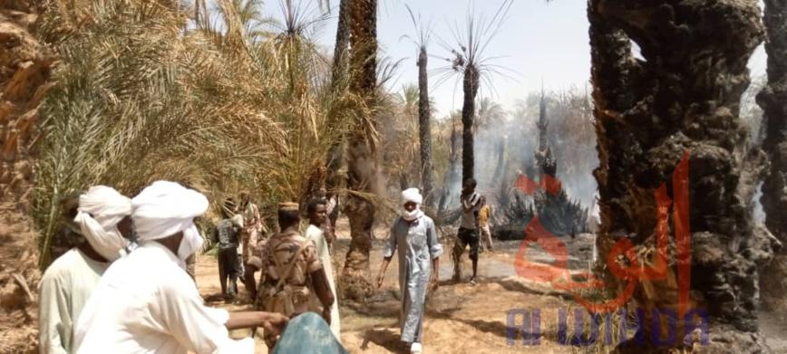 Tchad : un incendie fait des ravages à Faya