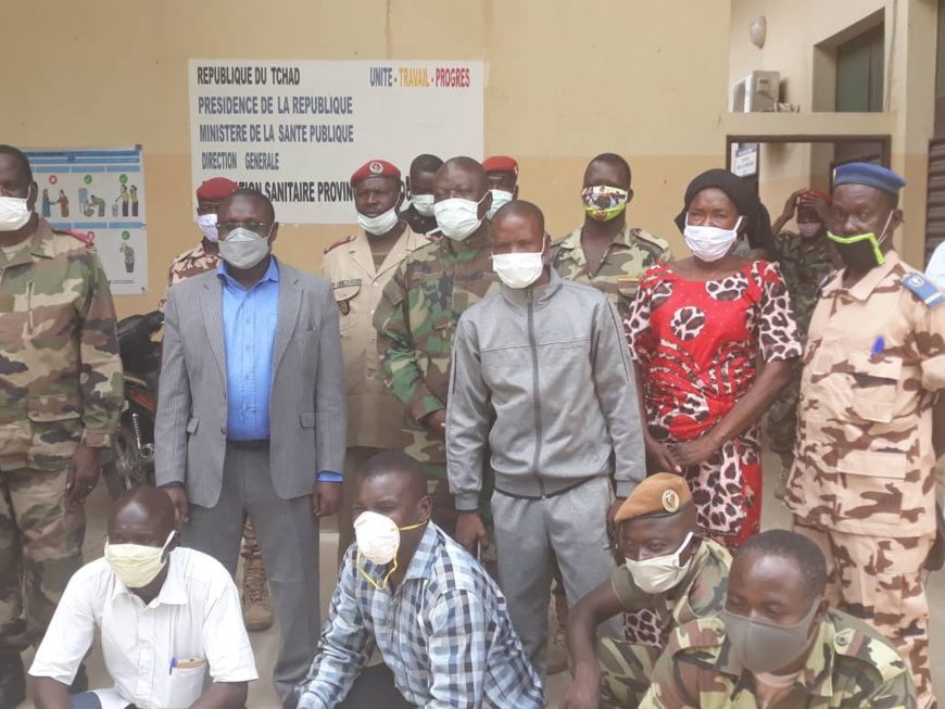 Tchad : à l'Est, des conseillers militaires formés sur la prévention de maladies. © Abba Issa/Alwihda Info