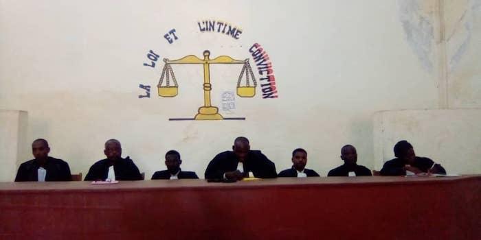 Des magistrats dans un Tribunal au Sud-Ouest du Tchad. Illustration © Foka Mapagne/Alwihda Info