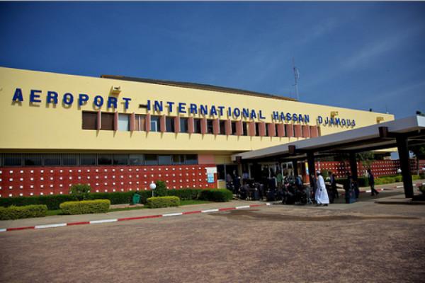 L'aéroport international de N'Djamena. Illustration © DR