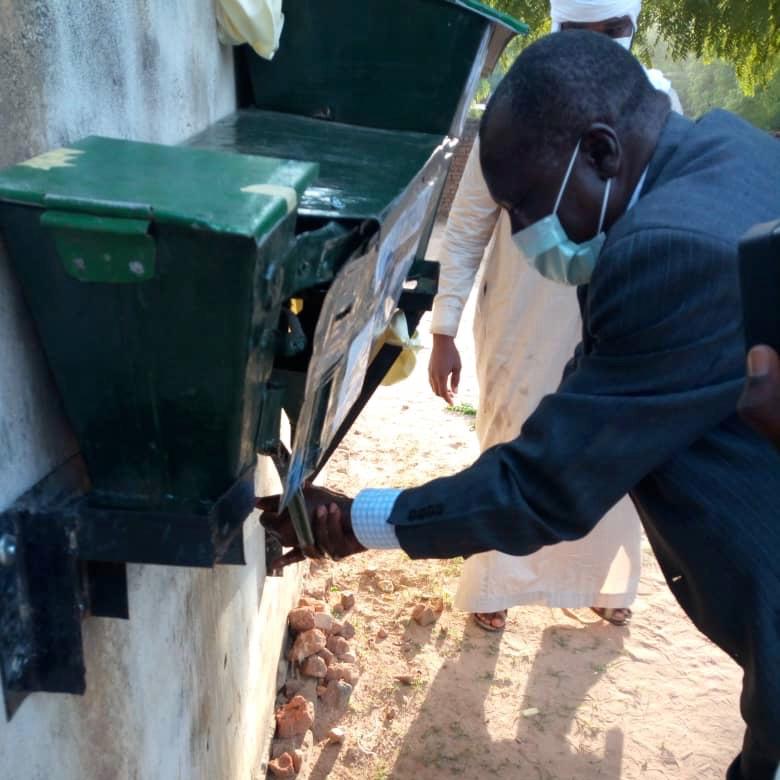 Tchad - Covid-19 : à Mongo, la jeunesse fait preuve de créativité pour accentuer le lavage des mains