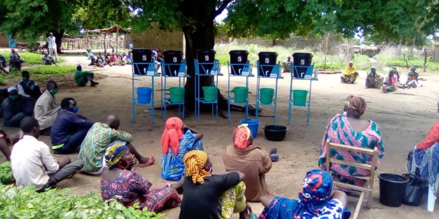 Tchad – Covid 19 : Au Mayo Kebbi Ouest, un centre chrétien vient en aide à quelques villages : ©️ Foka Mapagne/Alwihda Info
