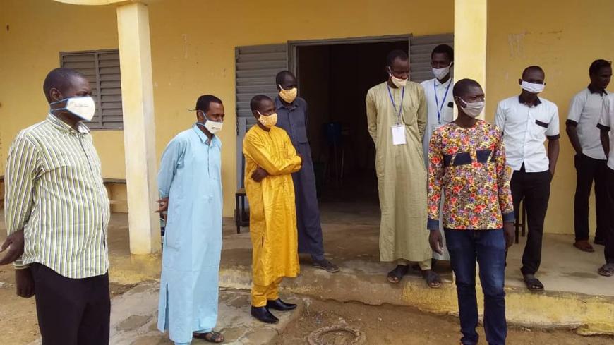 Tchad : dans les lycées d'Ati, la sensibilisation s'accentue contre la Covid-19