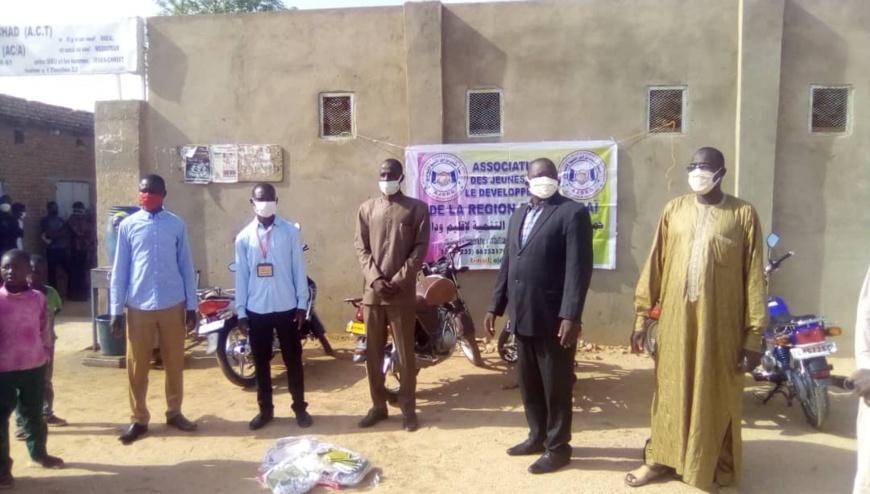 Tchad-Covid 19 : Des dons de masques distribés dans les églises à Abéché: ©️ Abba Issa/Alwihda Info