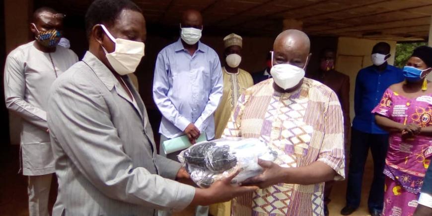 Tchad : au Mayo Kebbi Ouest, les classes d'examens reçoivent 33.688 masques. © Foka Mapagne/Alwihda Info