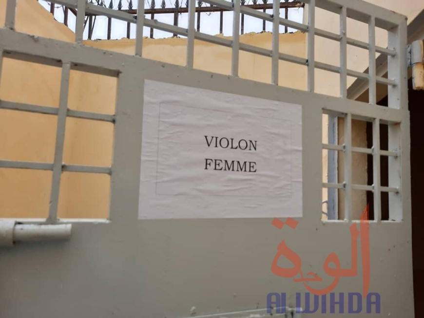 Tchad : La police nationale inaugure un bâtiment de garde à vue au commissariat central. © Djimet Wiche/Alwihda Info