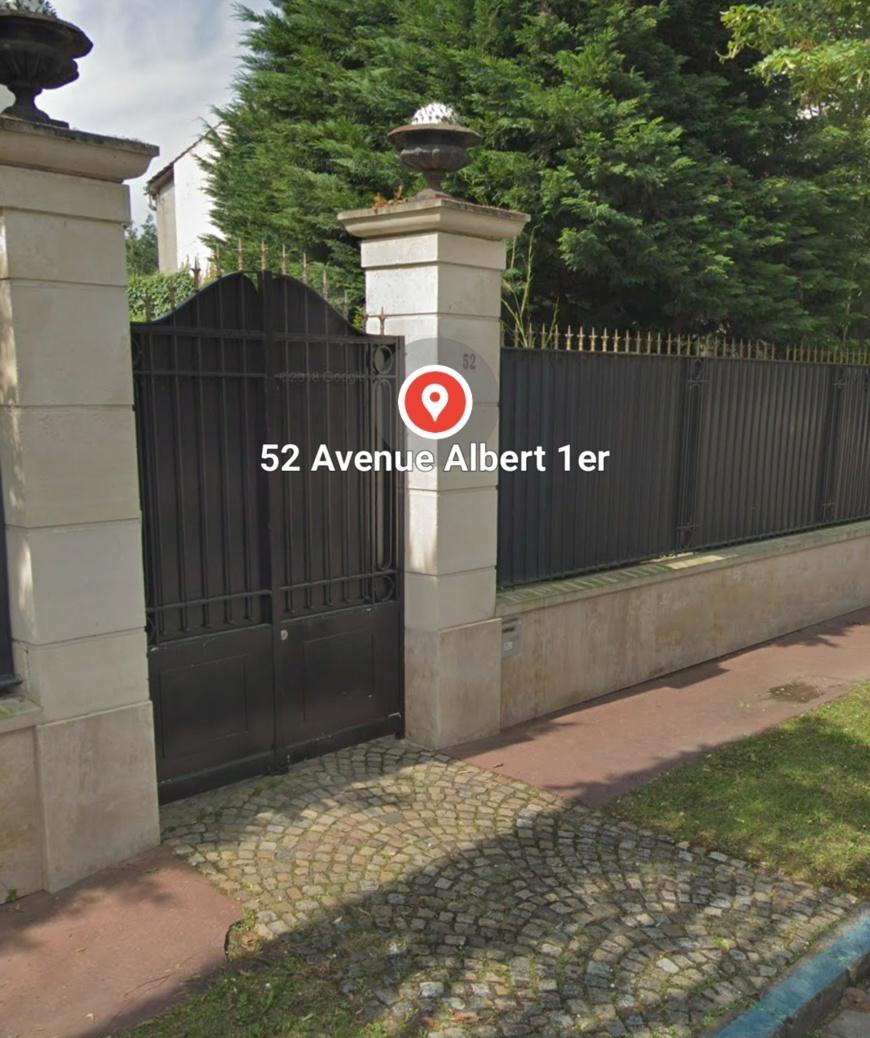 La résidence de Saint-Maur-des-Fossés en région parisienne, propriété de l'Etat du Cameroun.