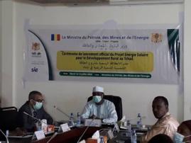 Tchad : un vaste projet d'énergie solaire lancé pour améliorer le taux d'accès à l'électricité