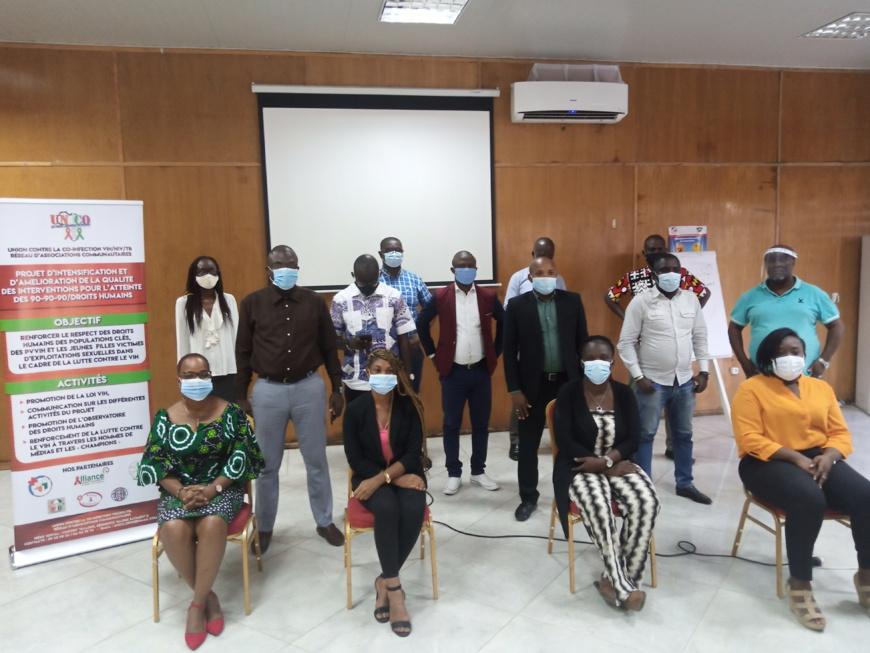 Côte d'Ivoire : Des journalistes instruits sur les droits des populations clés en matière de VIH/SIDA
