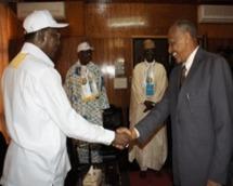 En marge des travaux du 5ème congrès ordinaire du Mouvement Patriotique du Salut, le Président de la République et Président fondateur du MPS, Idriss Déby a accordé hier après-midi, une audience à la délégation du Congrès National Soudanais, conduite par son vice-président, Nafi Ali Nafi. C'était dans les locaux du ministère des Affaires étrangères et de l'intégration africaine