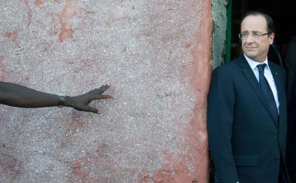 François Hollande le 12 octobre 2012 à Dakar AFP