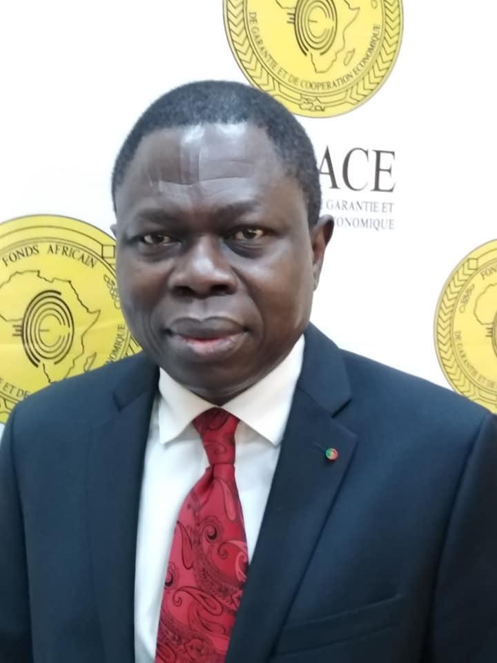 Le tchadien Nguéto Tiraina Yambaye installé à la direction générale du FAGACE. © DR/FAGACE