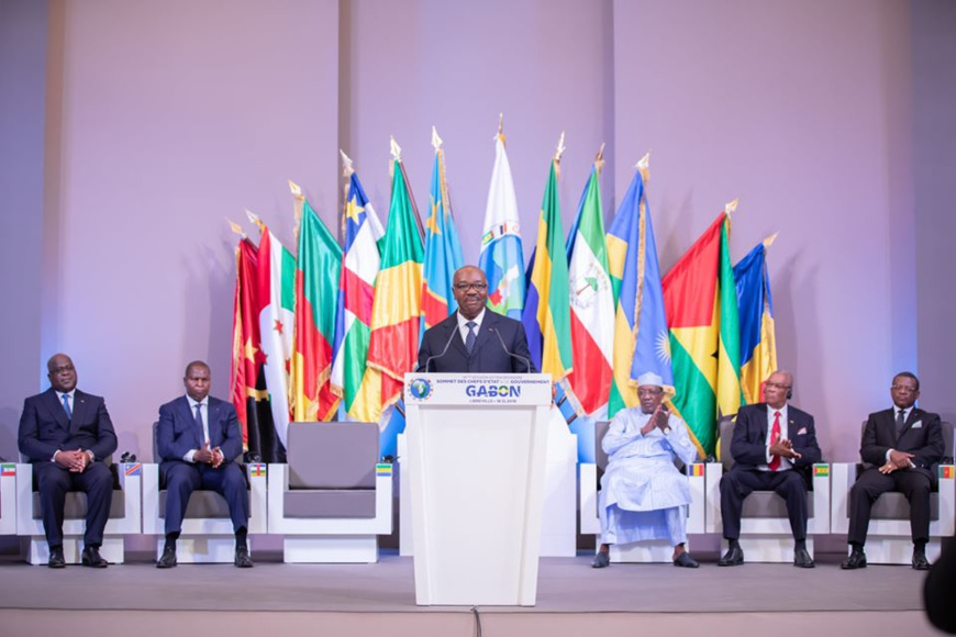 CEEAC : un sommet des chefs d'État et de gouvernement aura lieu le 30 juillet. ©DR/CEEAC