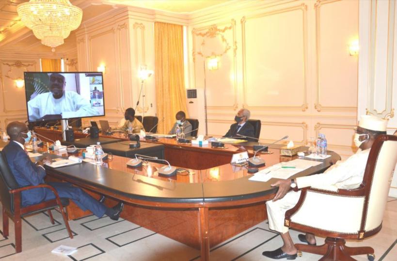 CEEAC : Idriss Déby a pris part au sommet par visioconférence. © PR
