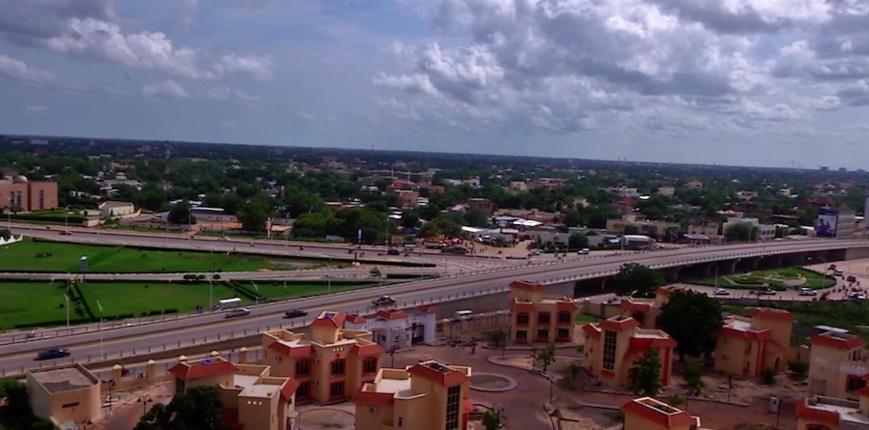 Une vue de la ville de N'Djamena. © DR
