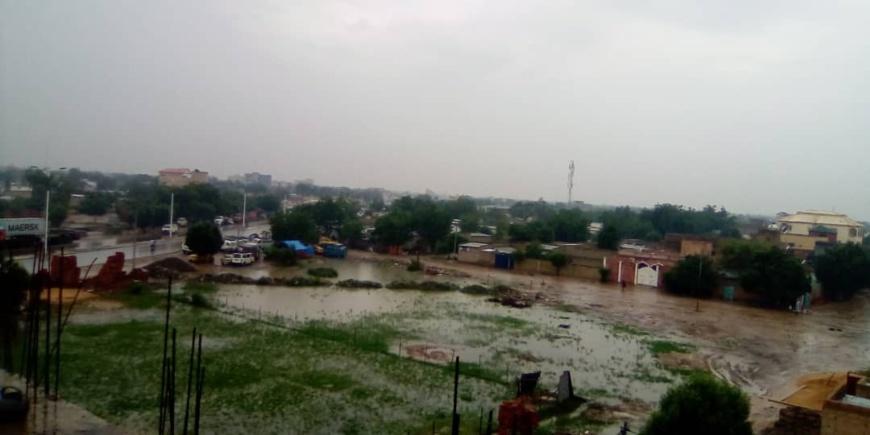Tchad : climat pluvieux à N'Djamena depuis le matin