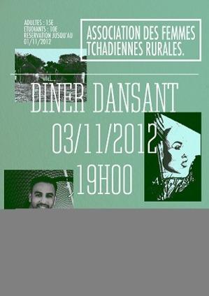 France: L'association des Femmes Tchadiennes Rurales organise un Diner-Dansant, le samedi