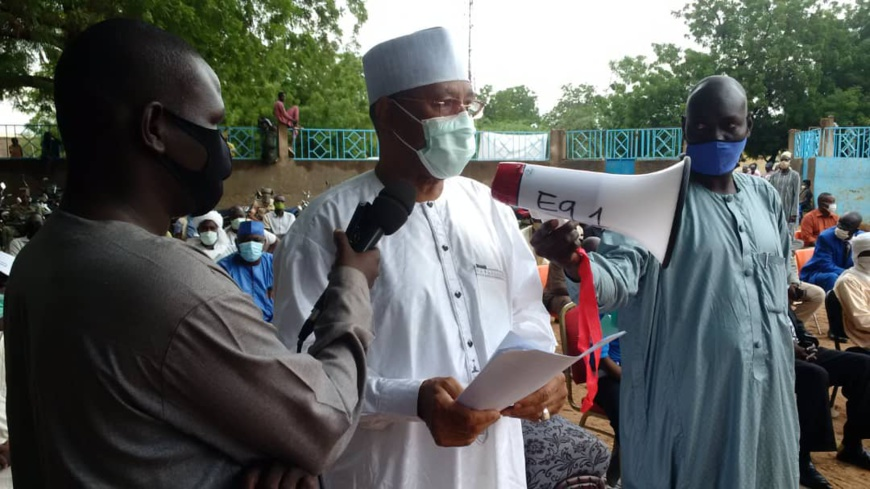 Dago Yacoub, gouverneur de la province du Guéra. © Béchir Badjoury/Alwihda Info