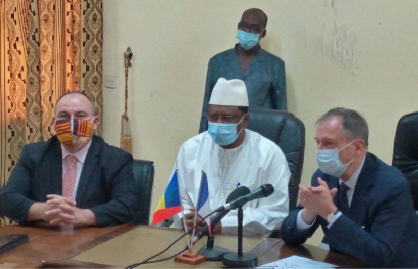 Tchad : un financement de 6,55 milliards Fcfa de la France en faveur de l'éducation au Lac. © Min.Education