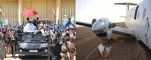 Le Président de la République a regagné N'Djaména ce matin. Il a été accueilli par des dizaines des milliers de ses compatriotes venus lui témoigner leur soutien.