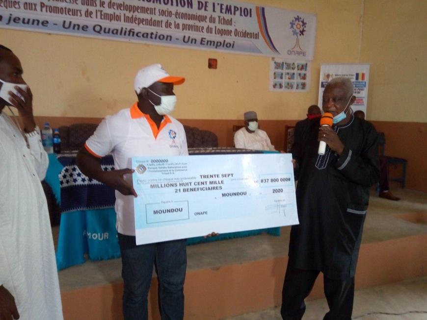 Tchad : des projets d'auto-emplois financés à hauteur de 37,8 millions Fcfa à Moundou. © Golmem Ali/Alwihda Info