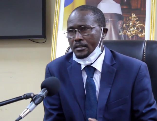 Le directeur général du ministère de la Santé publique et de la Solidarité nationale, Dr. Ismael Barh Bachar.
