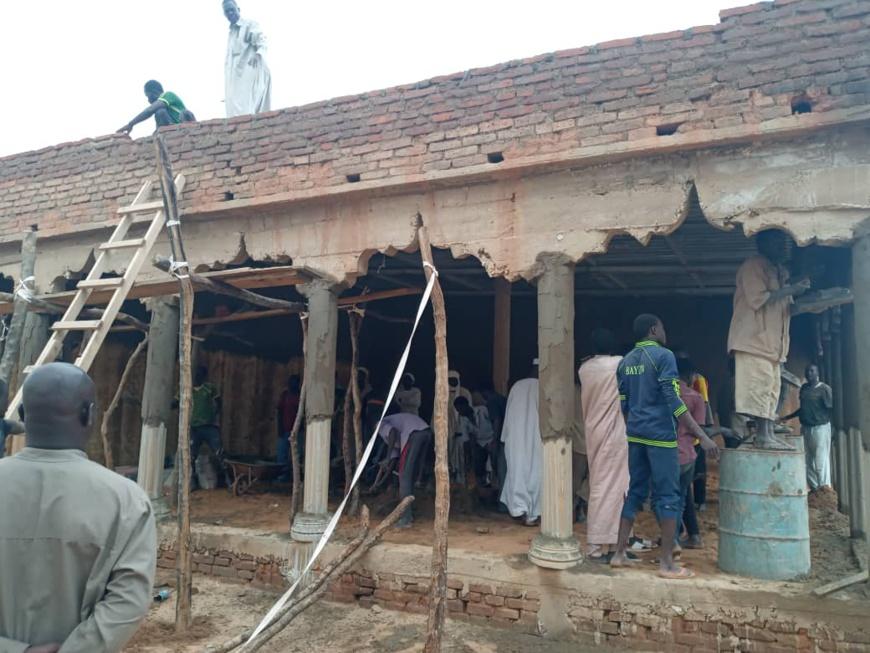 Tchad : à Goz Beida, des citoyens mobilisés pour la réfection du Palais du sultan de Sila