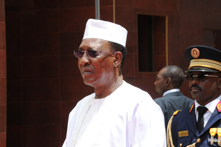 Le président du Tchad, Idriss Déby Itno. © Alwihda Info