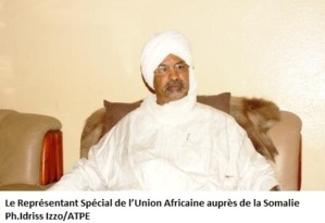 Le représentant spécial de l'Union Africaine auprès de la Somalie. Crédits photos : Idriss Izzo/ATPE
