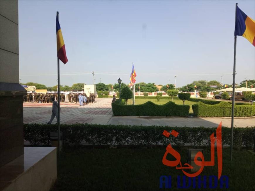Le Palais de la démocratie à Gassi, au Tchad, le 11 août 2020. © Alwihda Info