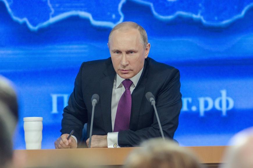 Le chef de l'État russe, Vladimir Poutine. © Pixabay