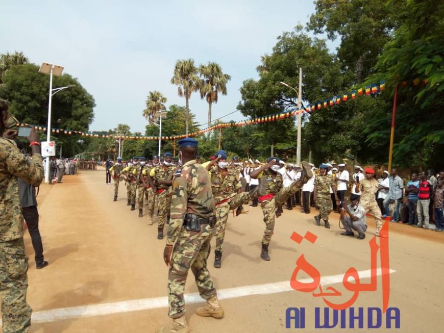 Tchad : la fête de l'indépendance célébrée avec un défilé militaire à Moundou. © Golmem Ali/Alwihda Info