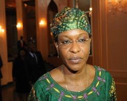 Dr Aïchatou Mindaoudou Souleymane, représentante spéciale conjointe adjointe à l'Opération hybride Union africaine-Nations Unies pour le Darfour (UNAMID).