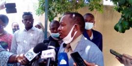 Le secrétaire d'État à la Santé publique, Dr. Djiddi Ali Sougoudi. © Mahamat Abdramane Ali Kitire/Alwihda Info
