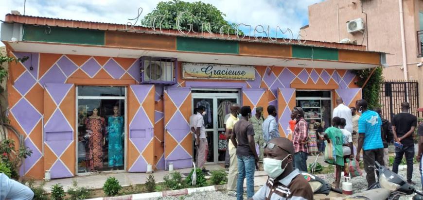 Tchad : une boutique braquée en plein jour à N'Djamena, la propriétaire ligotée. © Alwihda Info