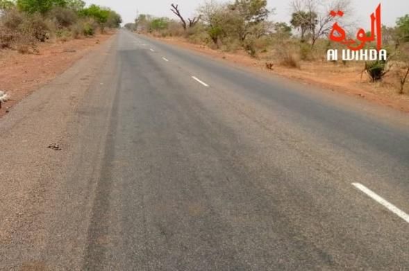 Une route au Tchad. Illustration © Mbaïnaissem Gédéon/Alwihda Info