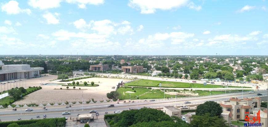 La ville de N'Djamena, Tchad. © Ben Kadabio/Alwihda Info