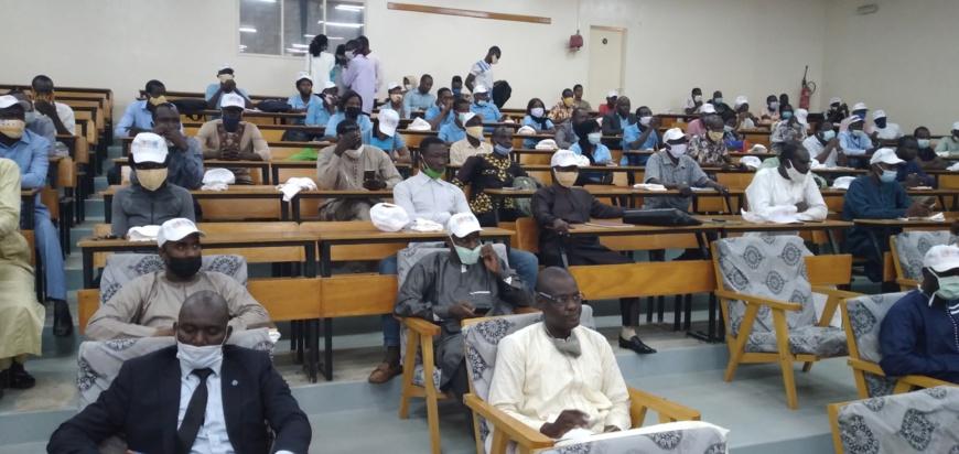 Tchad : la jeunesse se penche sur son engagement pour une action mondiale. © Ben Kadabio/Alwihda Info