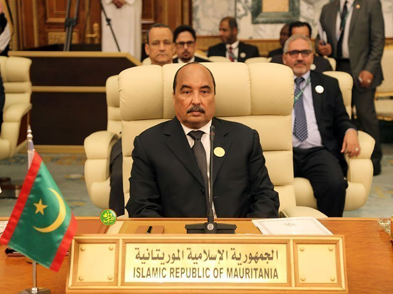 L'ancien chef de l'État mauritanien Mohamed Ould Abdel Aziz. Image d'illustration © DR