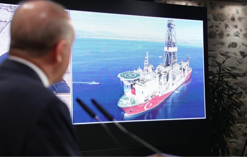 Turquie : Erdogan annonce une grande découverte de gaz naturel en mer Noire. © Recep Tayyip Erdogan/Twitter