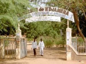 Les portes du rectorat de N'Djamena. Crédits photos : sources.